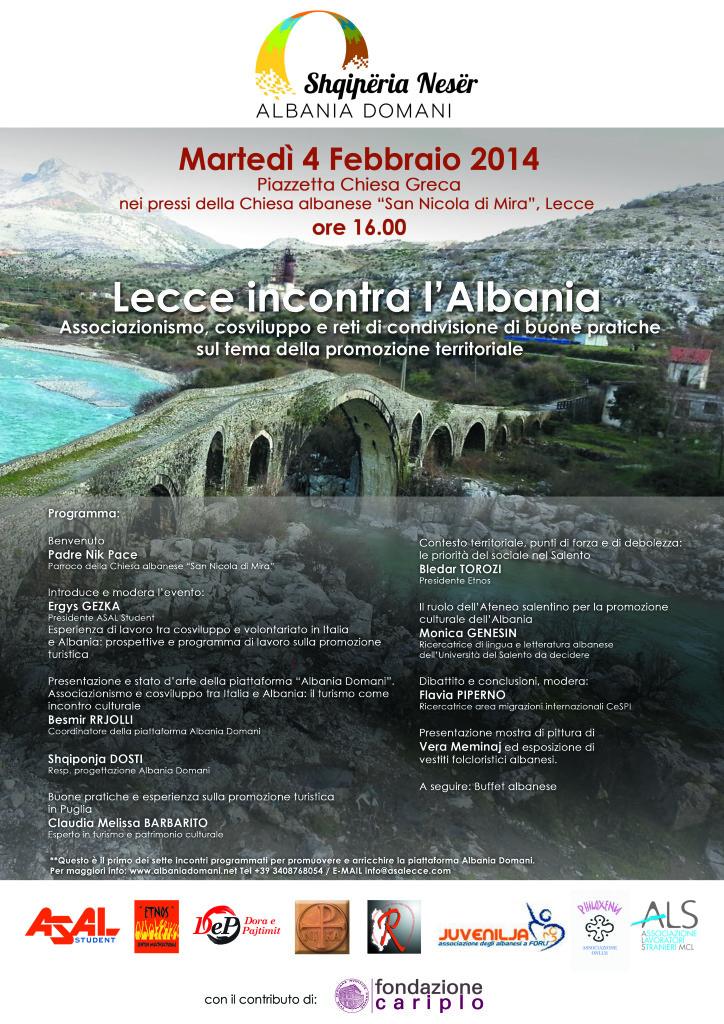 Locandina Evento Lecce